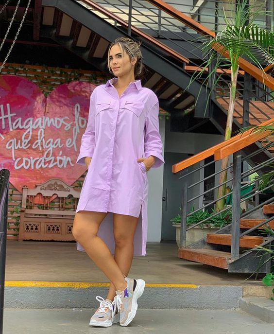 29 Dress In Shirt Style To Wear Now outfit fashion casualoutfit fashiontrends