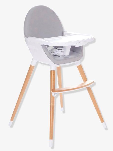 Chaise Haute Evolutive 2 Hauteurs Topseat Gris Vertbaudet Enfant Chaise Haute Evolutive Chaise Haute Chaise Haute Bebe