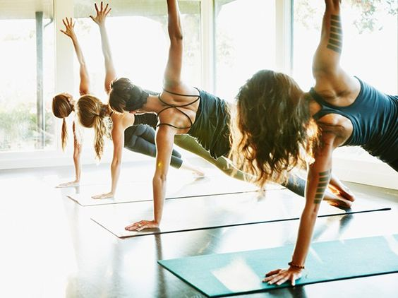 Whether you're looking for more flexibility or core control, there's a yoga class to suit your goals.