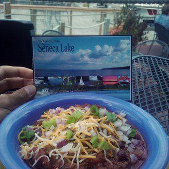 Village Marina - Watkins Glen, NY, United States Lunch