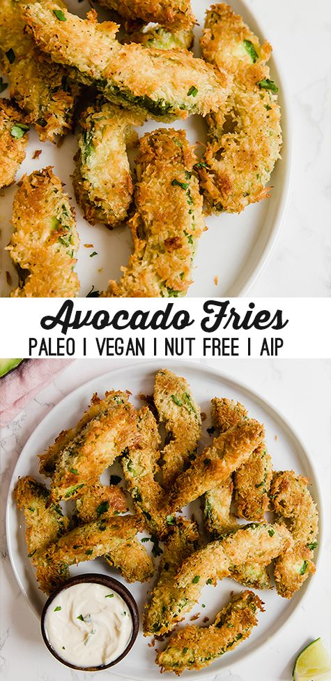 Avocado Fries (Paleo, AIP, Vegan)