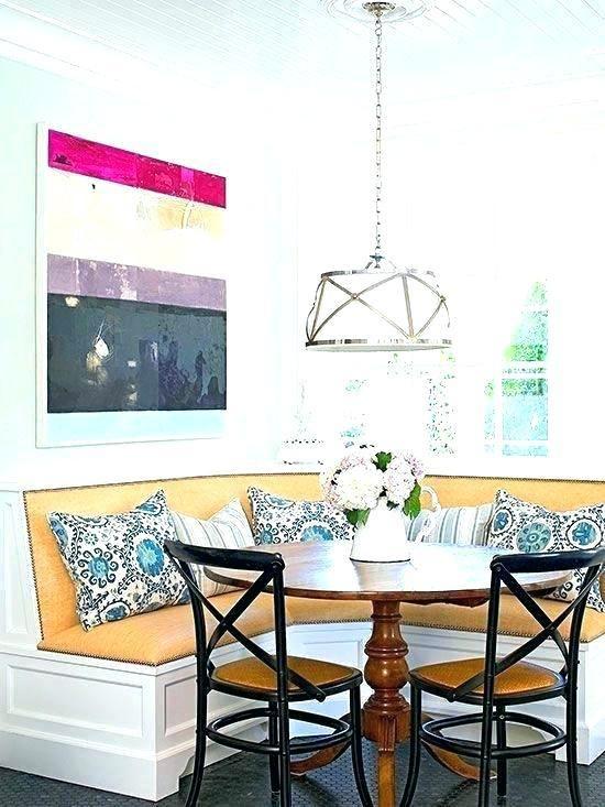 Corner Booth Furniture Living Room Corner Decor Dining Room