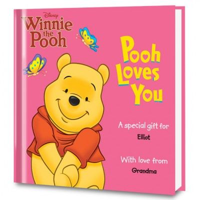 Disney's Pooh Loves You Personalize... Come on over to the Hundred-Acre Wood and play with yo