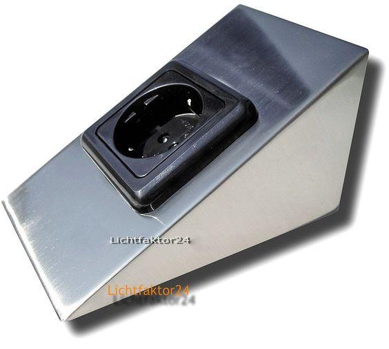 Sets Unterbau- Küchensteckdose 230Volt VDE Steckdosen für Küche - versenkbare steckdosen k che