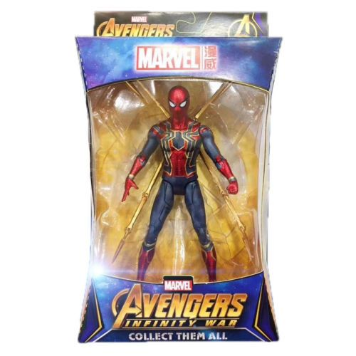 """Spider-Man Marvel Avengers 3 Infinity War Iron Spider 7/"""" Action Figure Toy Gifts"""