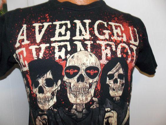 Avenged Sevenfold Skeleton Group Shot Mens by PfantasticPfindsToo