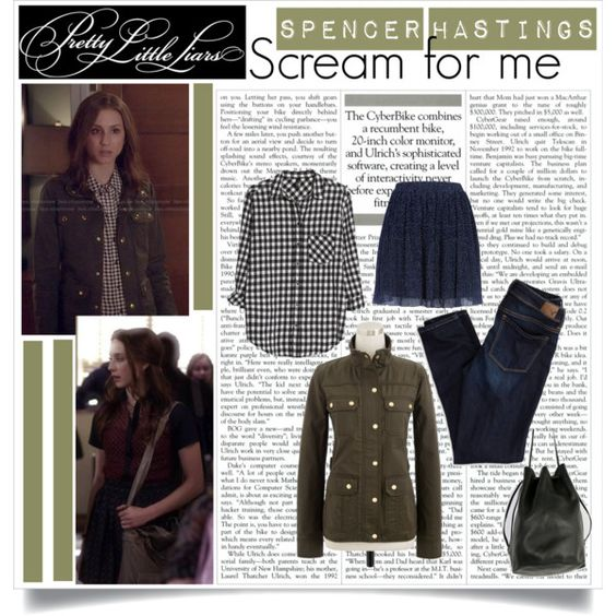 pretty little liars 5x08: spencer, created by esterp on Polyvore