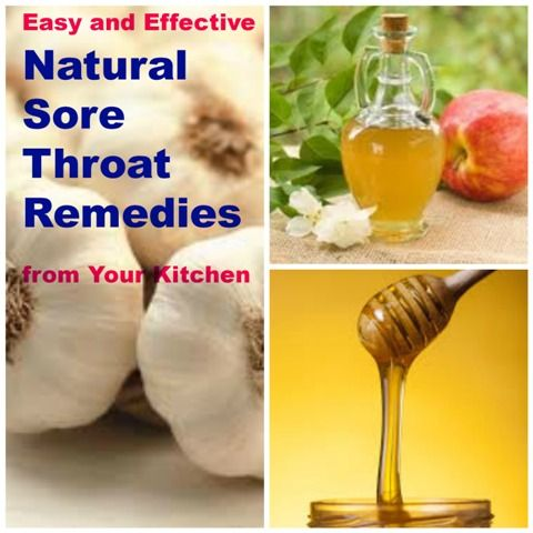 Easy Natural Sore Throat Remedies from Your Kitchen. Before you go running to a doctor, try these simple but effective home remedies for sore throat...
