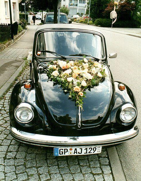 Vw Kafer Cabrio Zu Vermieten Fur Hochzeiten Und Alles Andere Autoschmuck Hochzeit Hochzeit Auto Kirchenschmuck Hochzeit