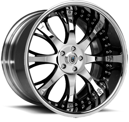 "19""20""22""24""26"" Asanti Wheels AF153 Multi piece Rims 