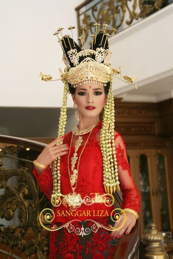 Traditional Wedding culture of Tangerang, Banten - West Java, Indonesia.