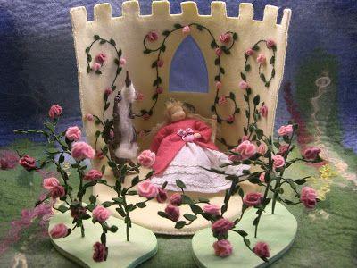 Susannelfes Blumenkinder für den Jahreszeitentisch: Wochenendgruß
