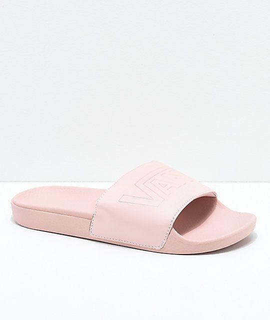 Get - pink vans slides - OFF 78