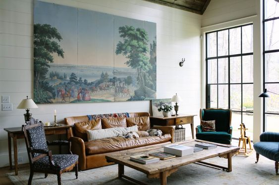 ブルックリン インテリア アンティーク家具 イメージ