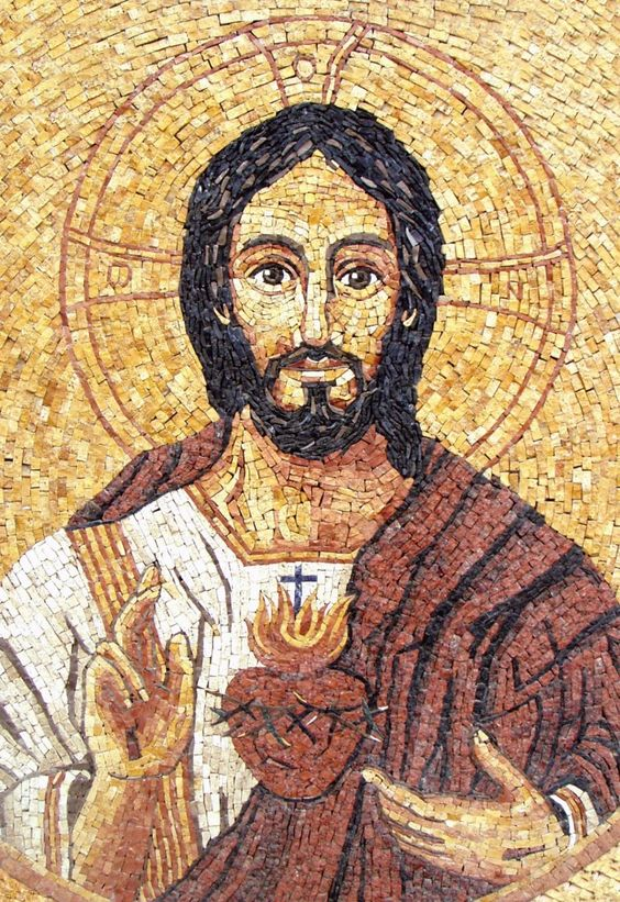 Mosaico de Jesus