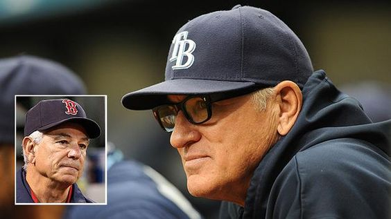 "Embattled Red Sox manager Bobby Valentine accused Joe Maddon of showing up late every day for games.  Showing up for his pregame media session Joe responded, ""Sorry I'm late. I just got here... My pedicure appointment ran a little late!"""