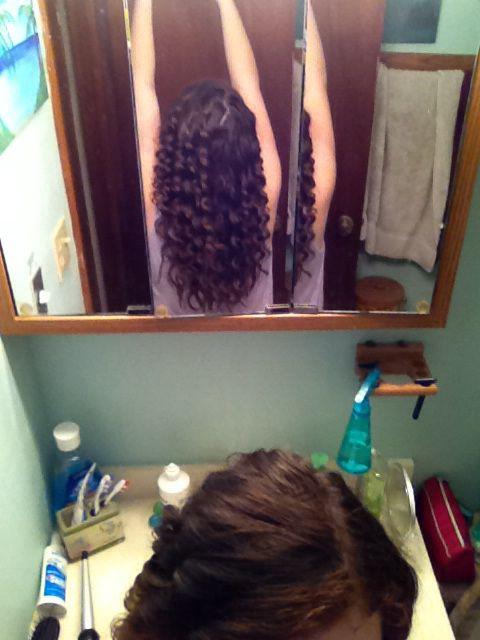 Karin's hair