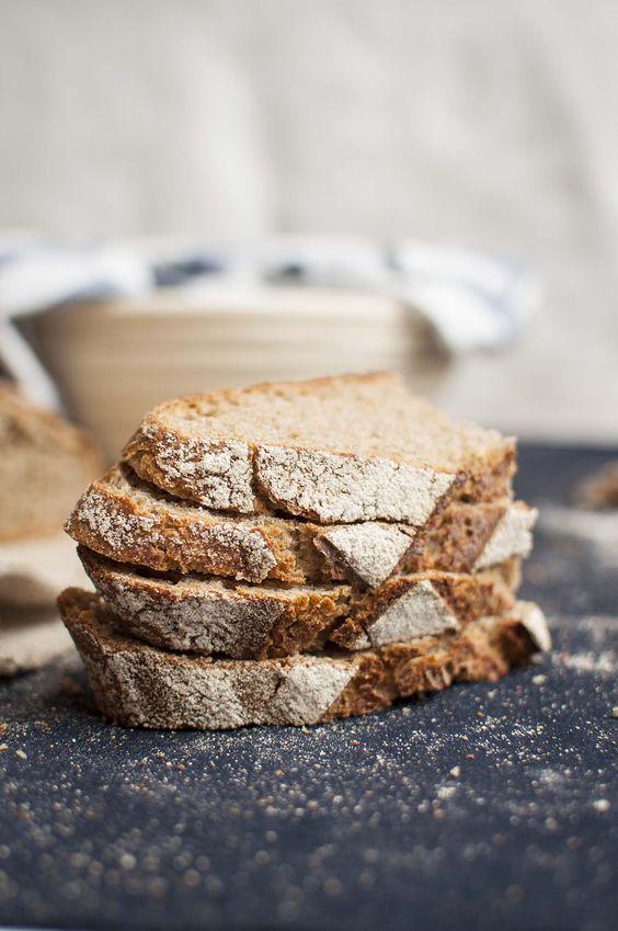 how to make Rye sourdough bread with homemade yogurt
