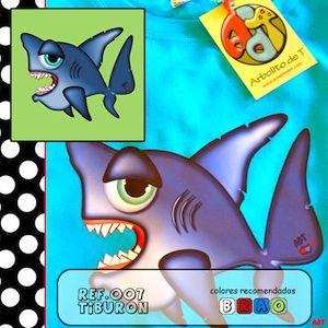 Este tiburón es la estrella indiscutible del verano...si te muerde...te enamoras!!