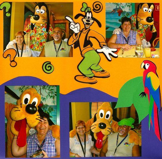 Disney Cruise Western Caribbean 10/06 Pt. 2 - Two Peas in a Bucket