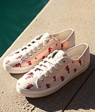 kate spade seahorse sneakers