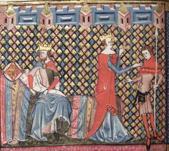 Bodleian Library MS. Bodl. 264, The Romance of Alexander in French verse, 1338-44; 79v
