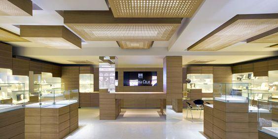 Zlatarna Celje jewelry flagship store by OFIS Arhitekti, Maribor - Slovenia