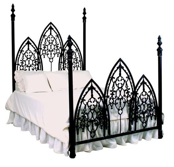 A more affordable gothic bed
