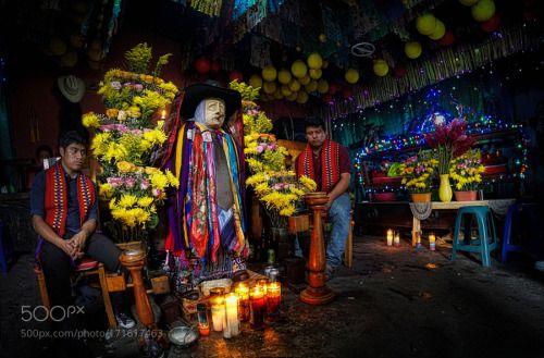 Maximon (I) by edtsousa  people religion shrine folk saint ritual worship guatemala atitlan san pedro san pedro la laguna max