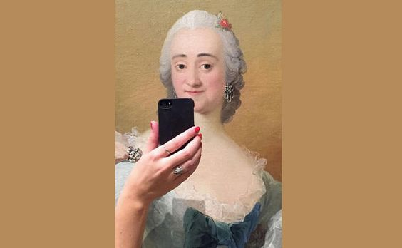 Das Portrait bekommt durch das Selfie einen völlig neuen Ausdruck!