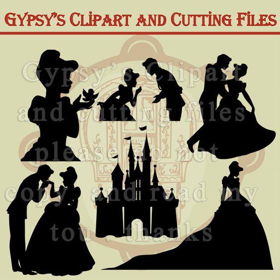 Disney Princess, Cinderella, Prince Charming,Vinyl, Girls Room, Invitation…