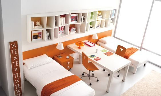 Kids shared rooms by tumidei