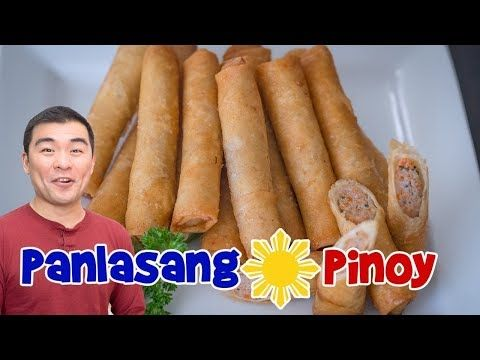 Panlasang Pinoy Lumpia Recipe Remake Makeover Of Oldest Lumpia Video Youtube Lumpia Recipe Lumpia Lumpiang Shanghai Recipe Panlasang Pinoy