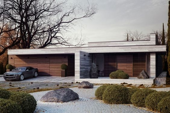 Casa Horizontal por 81.WAW.PL | HomeDSGN, una fuente diaria de inspiración y nuevas ideas sobre diseño de interiores y decoración del hogar.