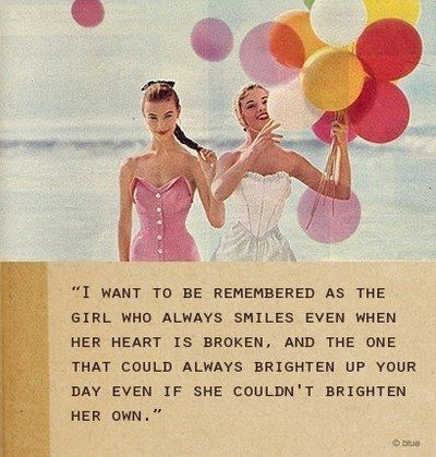 I want to be rememebred as the girl.... Probably 1 of my favorite quotes of alllll time! #quote #smile #happy