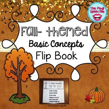 Fall Basic Concepts Flip Book target basic concepts in your