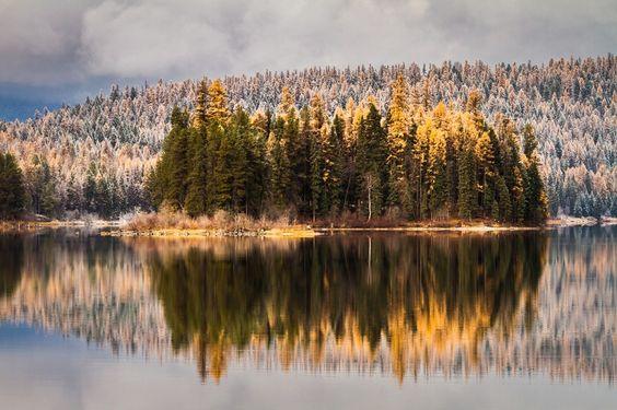 "Photo ""FallonStillwaterLake,Montana"" by scottwilson"