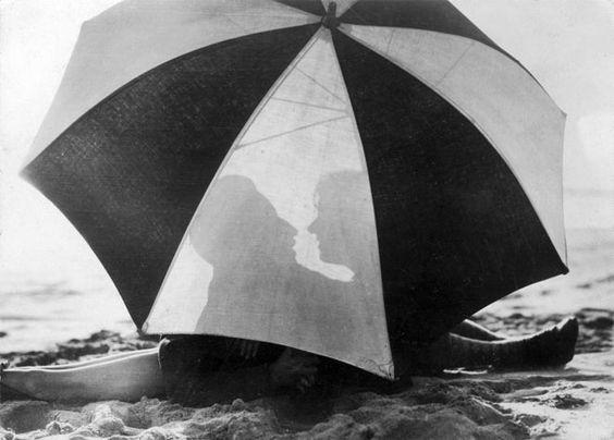 umbrella, silhouette