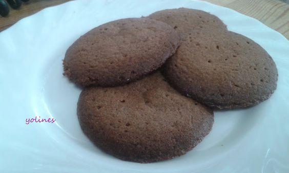 Vamos a cocinar con Yoli e Inés: Galletas de chocolate  y cacahuetes ( cocinando co...