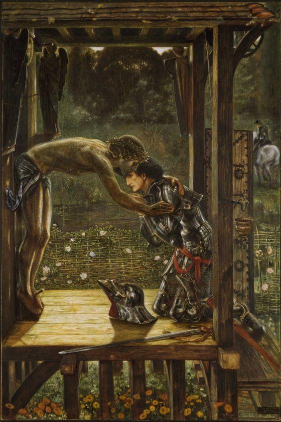 Edward Burne-Jones , The Merciful Knight, 1863, Birmingham Museum & Art…