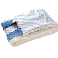 Bauch- und Brustwickel für Kleinkinder Gr.1 blau von Wickel & Co