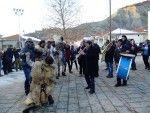 Πρωτοχρονιά 2016  Επταχώρι Καστοριάς  το έθιμο των μπουμπαραίων!