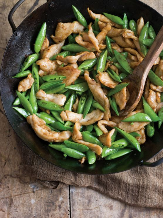 Chicken & Sugar Snap Peas | 27 Low-Carb Dinners That Are Actually Delicious
