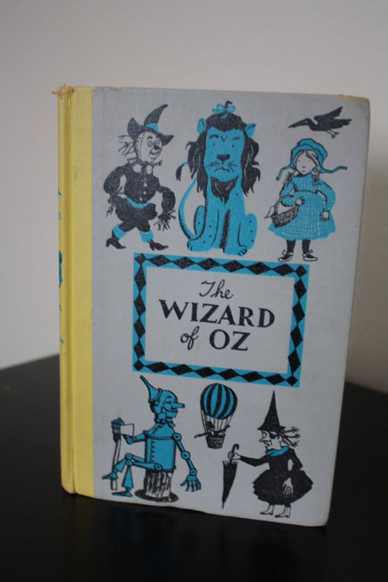 The New Wizard of Oz by L Frank Baum by VintagelyConstructed, $17.00: