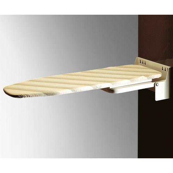 Tabla de planchar para fijar a la pared plegable - Mueble para guardar tabla de planchar ...