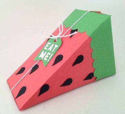 Cutie Pie Watermelon Slice - FREE Printable - Barbstamps!! Barb Mullikin Stampin' Up! Demonstrator