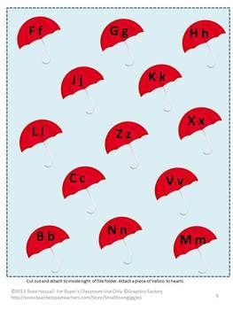 April Rains bring May Flowers File Folder Games: Stations Kimlit, Rains Bring, Literacy Inspiration, Flowers File, Creative Literacy, File Folder Games, April Rains, Literacy Resources, Kimlit Lib