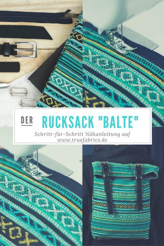 Schritt-für-Schritt Anleitung für einen stylischen Rucksack ...