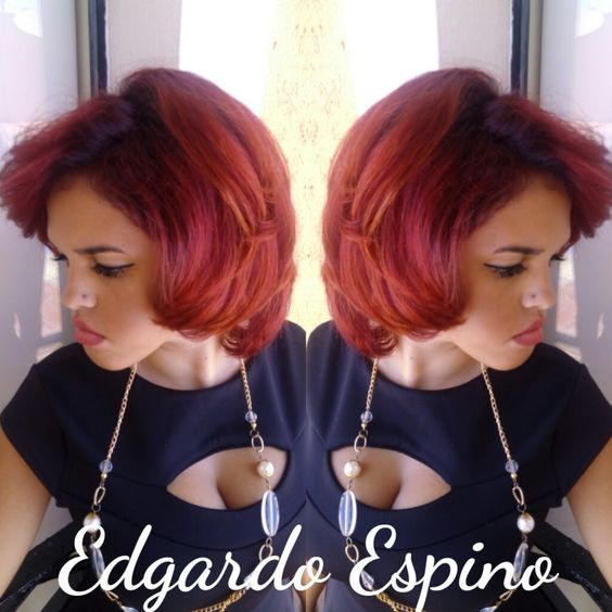 Atardecer Red/Orange hair color