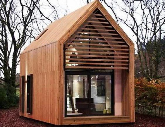 ein minihaus kolorat haus architektur fassaden fassadenfarbe architektur pinterest. Black Bedroom Furniture Sets. Home Design Ideas